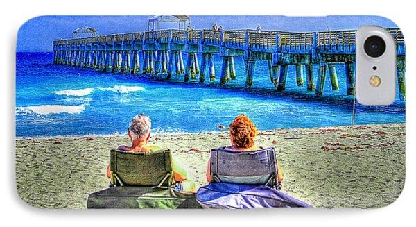 Retirement IPhone Case by Debra and Dave Vanderlaan