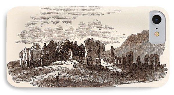 Retreat Of Edward II  To Neath Abbey, A Cistercian Monastery IPhone Case