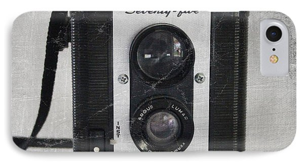 Retro Camera IPhone Case by Linda Woods