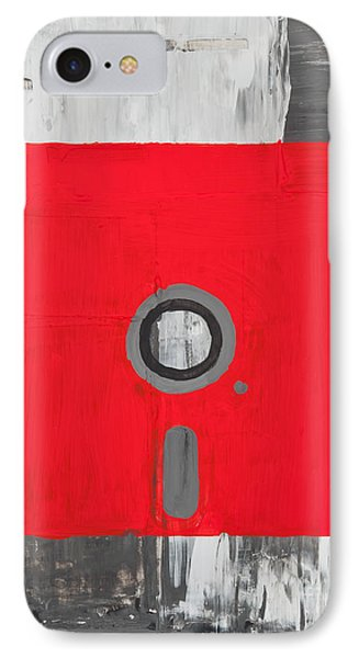 Retro Disc IPhone Case by Shawn Hempel