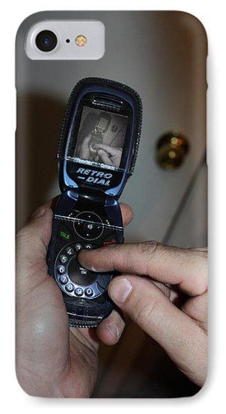 Retro Phone IPhone Case by Gravityx9   Designs