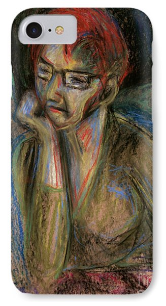 Retrospection - Woman IPhone Case by Samantha Geernaert