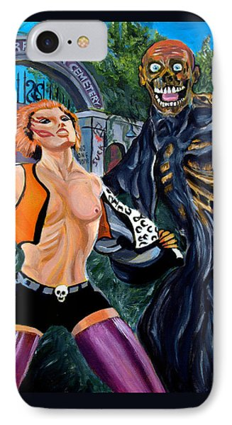 Return Of The Living Dead Phone Case by Jose Mendez