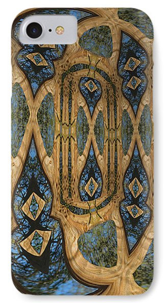 Return To Norwegian Wood Phone Case by Wendy J St Christopher