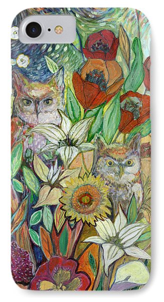 Tulip iPhone 7 Case - Returning Home To Roost by Jennifer Lommers