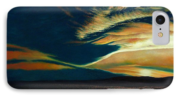 Returning To Tuscarora Mountain Phone Case by Christopher Shellhammer