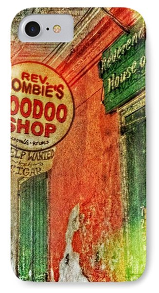 Rev Zombie's Voodoo Shop IPhone Case
