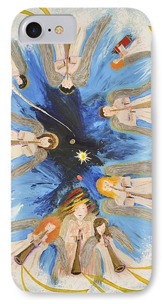 Revelation 8-11 Phone Case by Cassie Sears