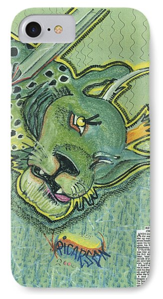 Revelation  Thirteen The Beast Phone Case by D Picarson