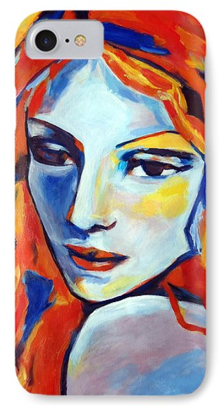IPhone Case featuring the painting Reverie by Helena Wierzbicki