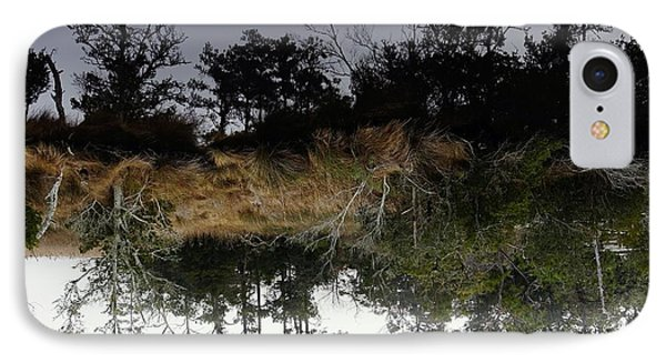 Reverse Reflection On A Crab Fishermans Canal IPhone Case