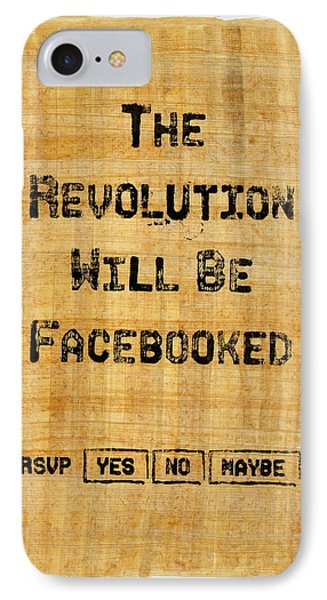 Revolution 2011 IPhone Case by Jonathan Morgan
