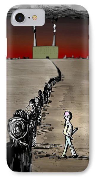 Revolution IPhone Case by Paul  Griffin