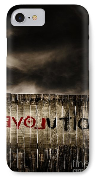 Revolution. The Writings Is On The Wall IPhone Case