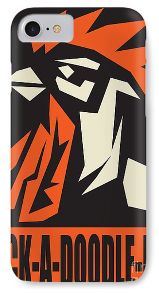 Revolutionary Rooster IPhone Case