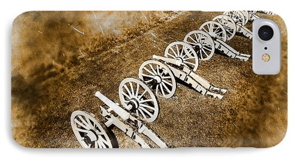 Revolutionary War Cannons Phone Case by Olivier Le Queinec