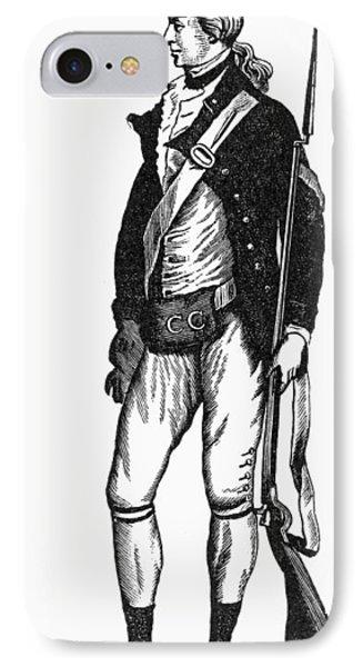 Revolutionary War Rifleman Phone Case by Granger
