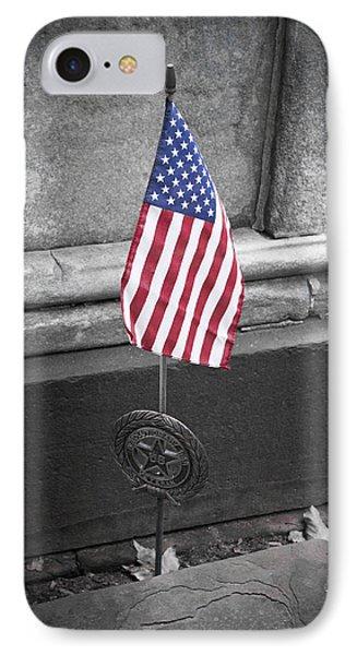 Revolutionary War Veteran Marker Phone Case by Teresa Mucha