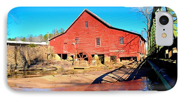 Rex Mill On Big Cotton Indian Creek IPhone Case by James Potts