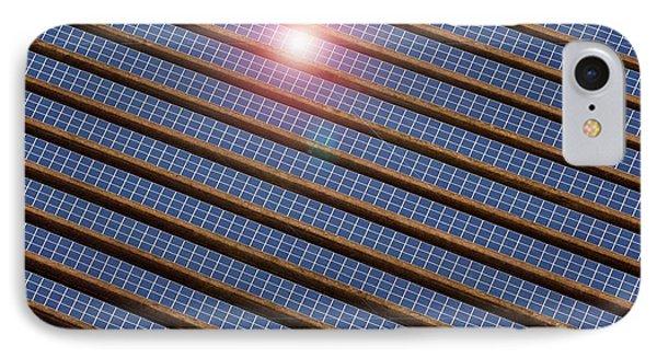Reydon Solar Farm IPhone Case by Victor De Schwanberg