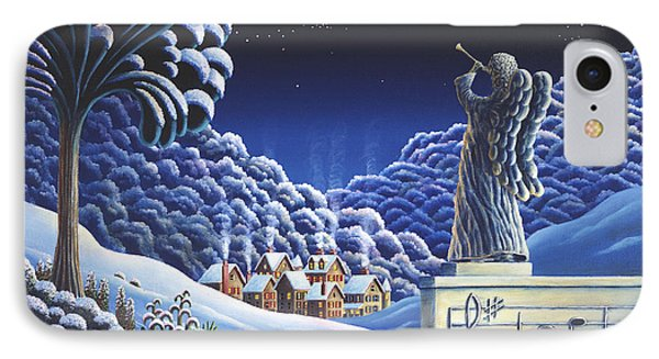 Rhapsody In Blue IPhone Case by Andy Russell