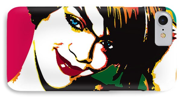 Rhiana  IPhone Case by Irina Effa
