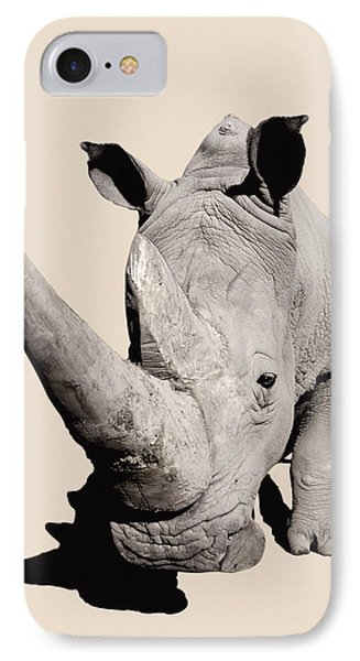 Rhinocerosafrica Phone Case by Thomas Kitchin & Victoria Hurst