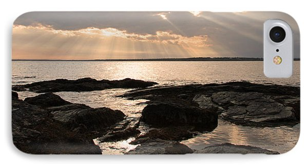IPhone Case featuring the photograph Rhode Island Sunset by Brooke T Ryan