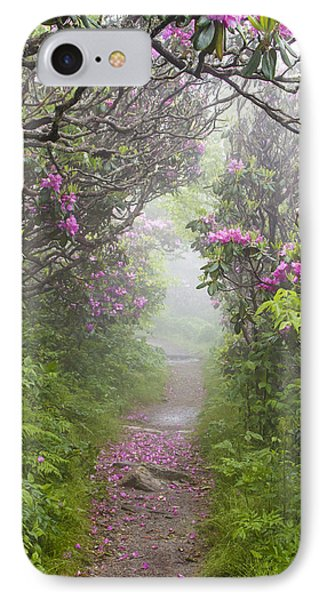 Rhododendron Time In North Carolina Phone Case by Bill Swindaman