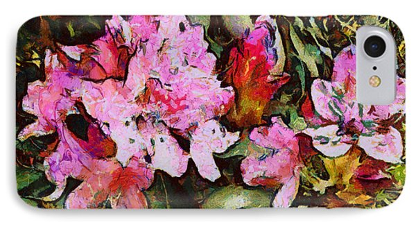 Rhododendrons One IPhone Case by Spyder Webb