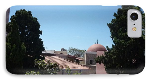 Rhodos Old Building IPhone Case by Ted Pollard
