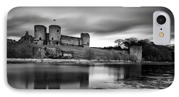 Rhuddlan Castle IPhone 7 Case by Dave Bowman