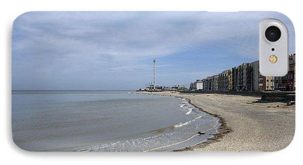 Rhyl Beach Phone Case by Christopher Rowlands