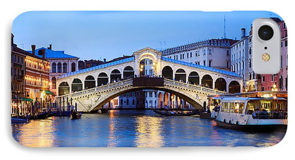 Rialto Bridge At Night Venice Italy IPhone Case