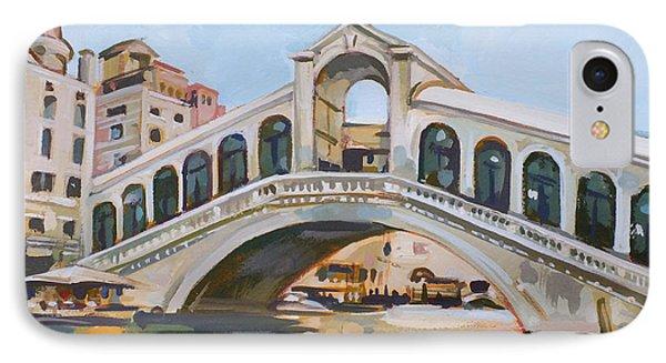 Rialto Bridge Phone Case by Filip Mihail