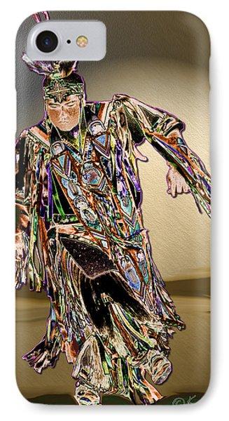 Ribbon Dancer Phone Case by Kae Cheatham