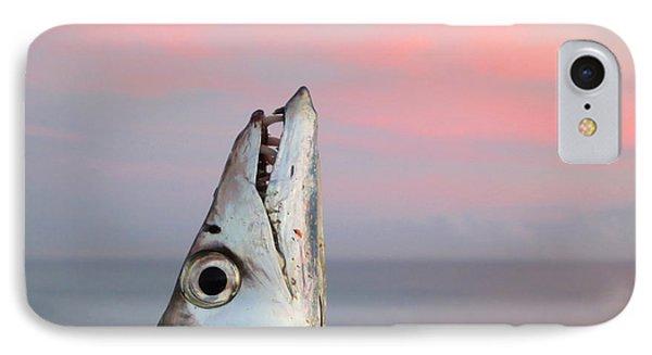 Ribbonfish At Sunrise Phone Case by Patricia Januszkiewicz