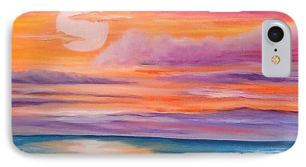 IPhone Case featuring the painting Ribbons In The Sky by Holly Martinson