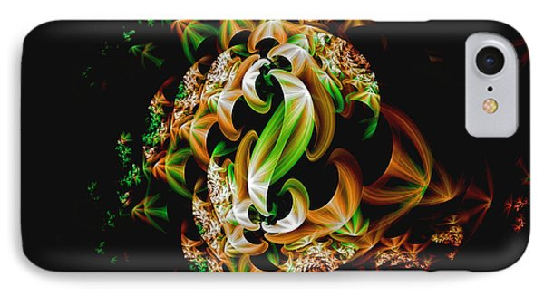 IPhone Case featuring the digital art Ribbons by Lea Wiggins