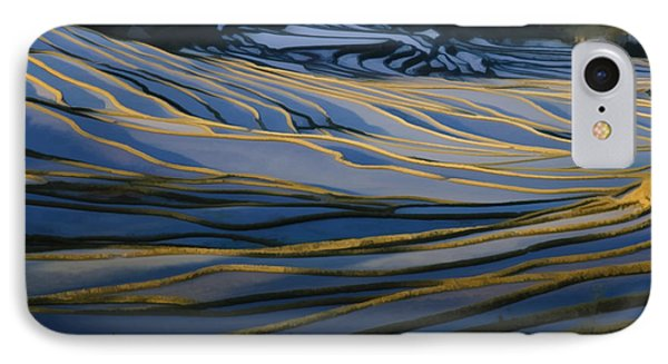 Rice Terraces Of Yuanyang 1 IPhone Case by Lanjee Chee