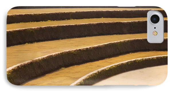 Rice Terraces Of Yuanyang 3 IPhone Case by Lanjee Chee