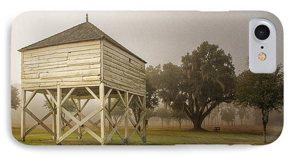 Rice Winnowing Barn IPhone Case by Sandra Anderson
