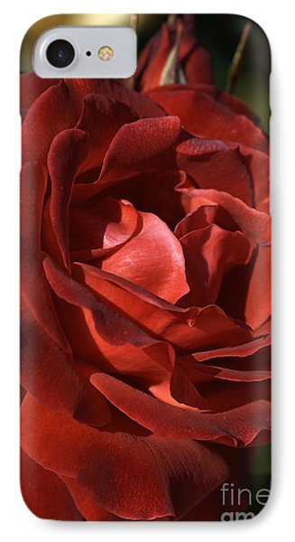 IPhone Case featuring the photograph Rich Is Rose by Joy Watson