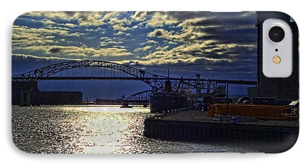 Richard I Bong Memorial Bridge Phone Case by Tommy Anderson