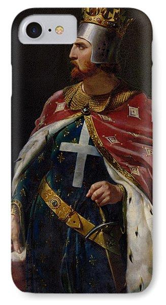 Richard I The Lionheart IPhone Case by Merry Joseph Blondel
