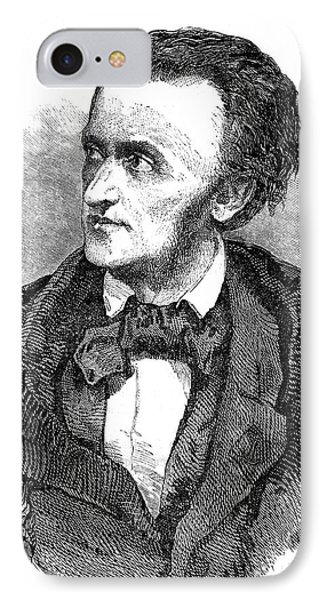 Richard Wagner IPhone Case by Collection Abecasis