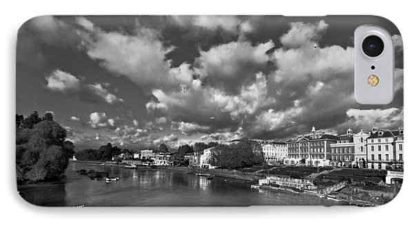 Richmond Riverside IPhone Case by Maj Seda