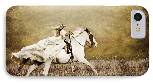 Ride Like The Wind Phone Case by Cindy Singleton
