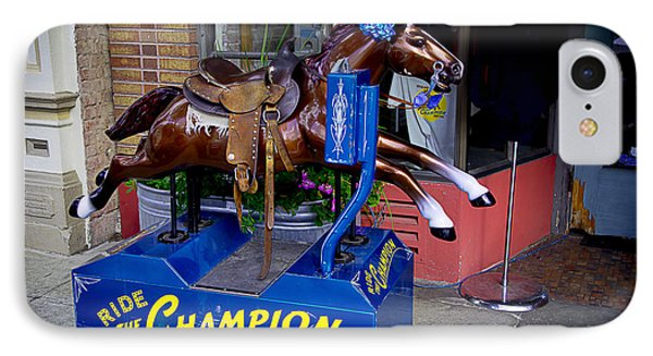Ride The Champion Phone Case by Garry Gay