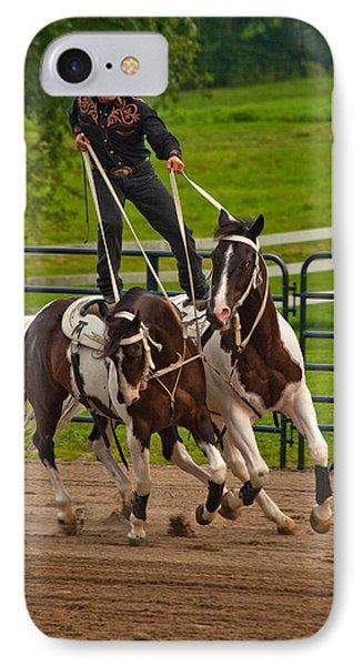 Ride Them Cowboy Phone Case by Karol Livote